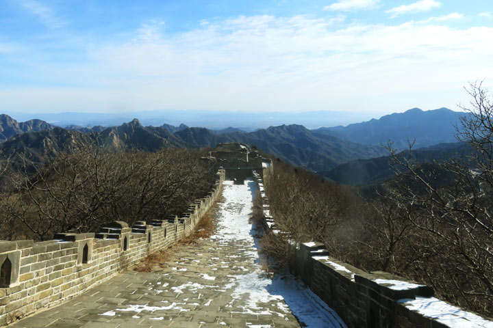 Jiankou to Mutianyu Great Wall, 2019/02/07 photo #7