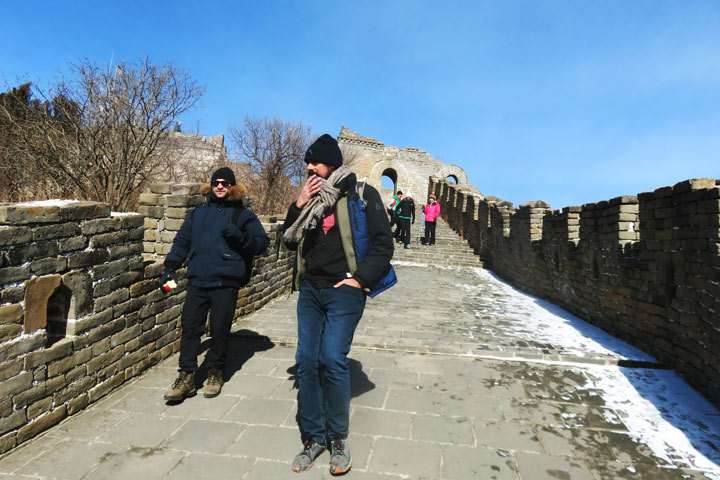 Jiankou to Mutianyu Great Wall, 2019/02/07 photo #10