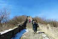 Jiankou to Mutianyu Great Wall, 2019/02/07