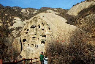 Longqingxia Ice Festival and Tang Dynasty Caves, 2019/02/08