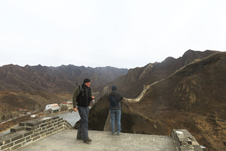 Great Wall Huanghuacheng to the Little West Lake, 2019/02/09 photo #3