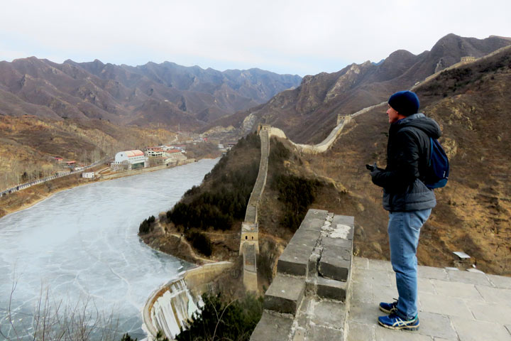Great Wall Huanghuacheng to the Little West Lake, 2019/02/09 photo #4