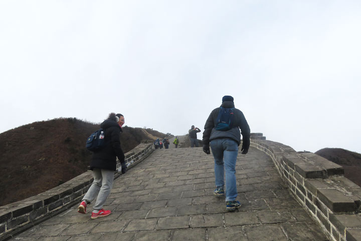 Great Wall Huanghuacheng to the Little West Lake, 2019/02/09 photo #5