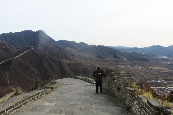 Great Wall Huanghuacheng to the Little West Lake, 2019/02/09 photo #7