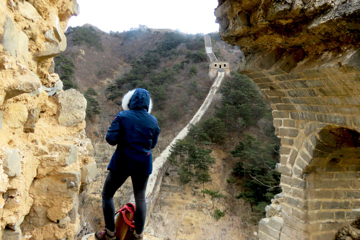 Great Wall Huanghuacheng to the Little West Lake, 2019/02/09 photo #9