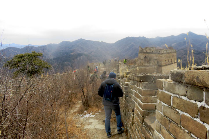 Great Wall Huanghuacheng to the Little West Lake, 2019/02/09 photo #16