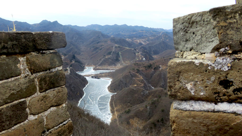 Great Wall Huanghuacheng to the Little West Lake, 2019/02/09