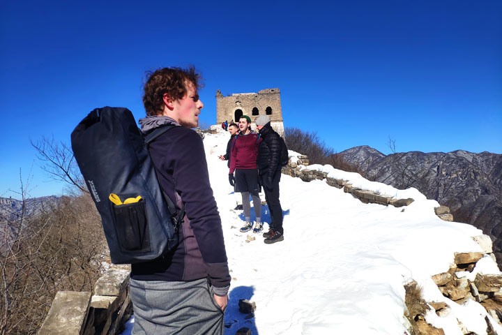 Jiankou to Mutianyu Great Wall, 2019/02/16 photo #4
