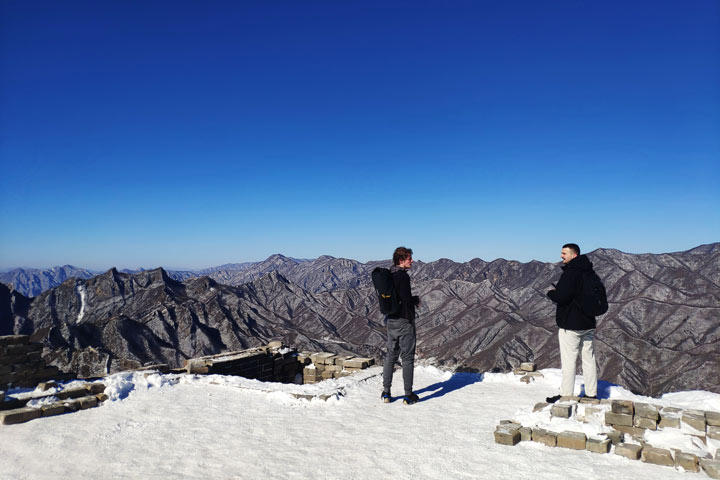 Jiankou to Mutianyu Great Wall, 2019/02/16 photo #7