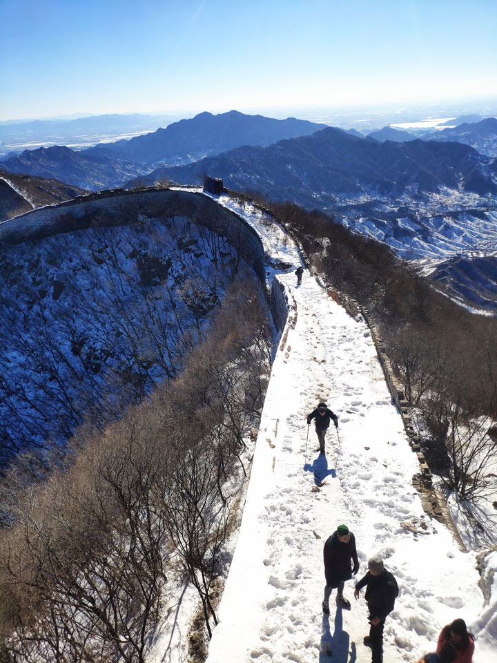 Jiankou to Mutianyu Great Wall, 2019/02/16 photo #8