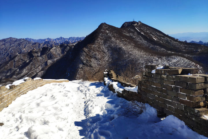 Jiankou to Mutianyu Great Wall, 2019/02/16 photo #11