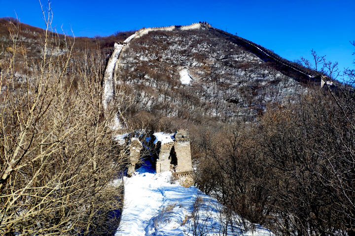 Jiankou to Mutianyu Great Wall, 2019/02/16 photo #13