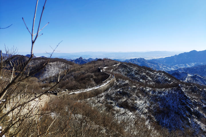 Jiankou to Mutianyu Great Wall, 2019/02/16 photo #14