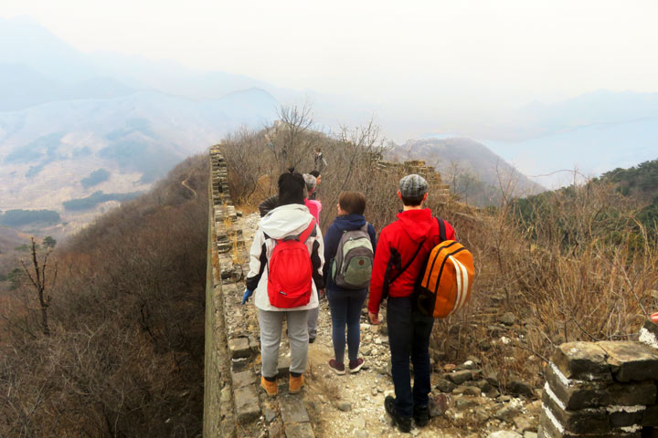 Walled Village to Huanghuacheng Great Wall, 2019/03/09 photo #4
