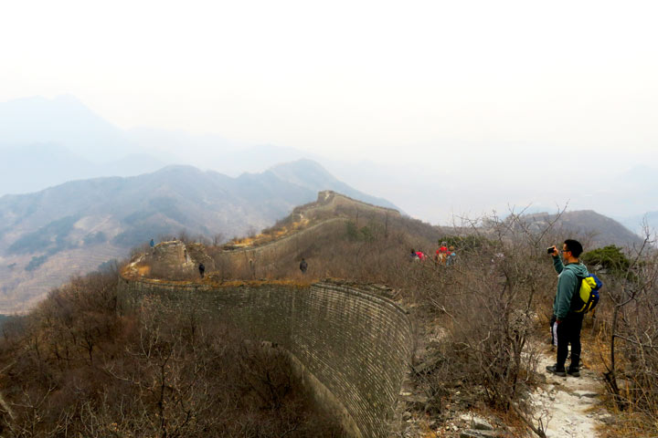 Walled Village to Huanghuacheng Great Wall, 2019/03/09 photo #6