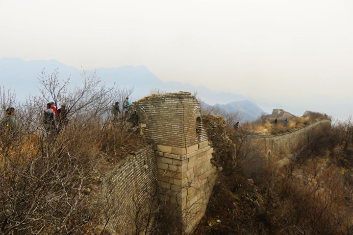Walled Village to Huanghuacheng Great Wall, 2019/03/09 photo #7