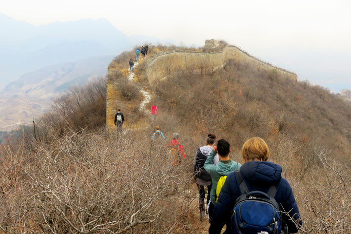 Walled Village to Huanghuacheng Great Wall, 2019/03/09 photo #8
