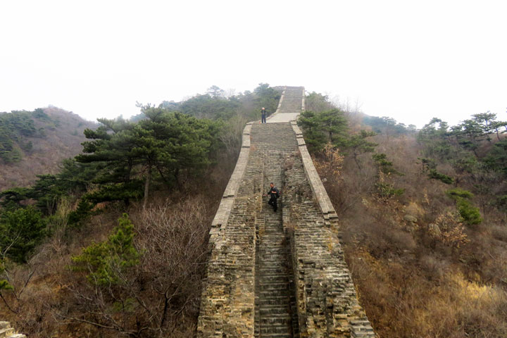 Walled Village to Huanghuacheng Great Wall, 2019/03/09 photo #14
