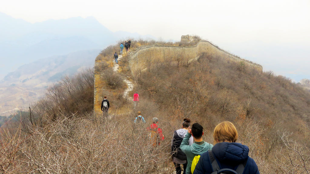 Walled Village to Huanghuacheng Great Wall, 2019/03/09
