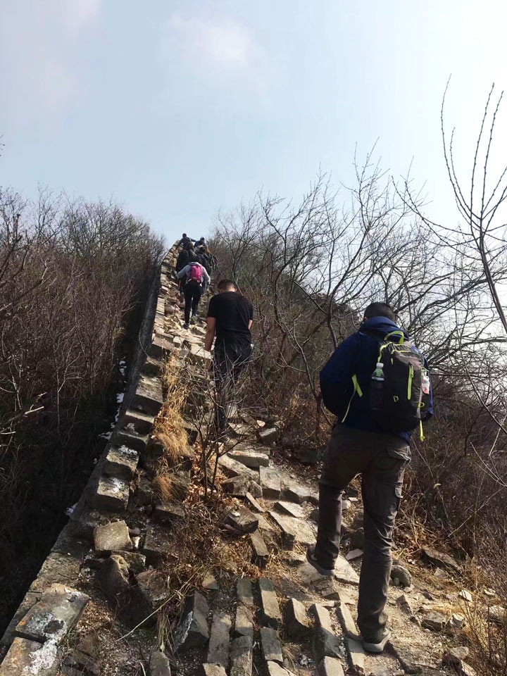 Jiankou to Mutianyu Great Wall, 2019/03/10 photo #11