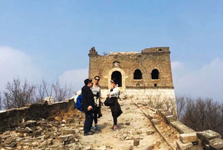 Jiankou to Mutianyu Great Wall, 2019/03/10