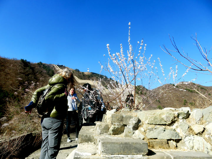 Great Wall Huanghuacheng to the Walled Village, 2019/03/21 photo #4