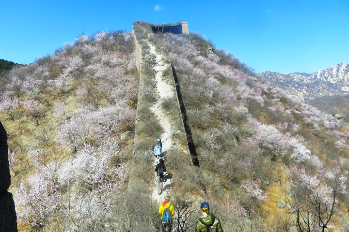 Great Wall Huanghuacheng to the Walled Village, 2019/03/21 photo #12