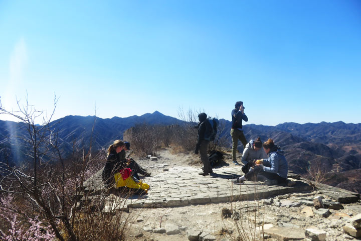 Great Wall Huanghuacheng to the Walled Village, 2019/03/21 photo #13