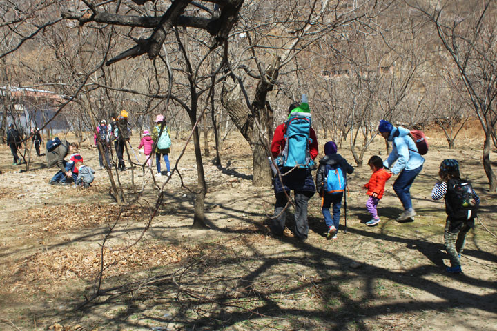Kids Club Zhuangdaokou to the Walled Village, 2019/03/24 photo #1