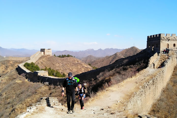 Camping Gubeikou to Jinshanling Great Wall, 2019/03/30 photo #10