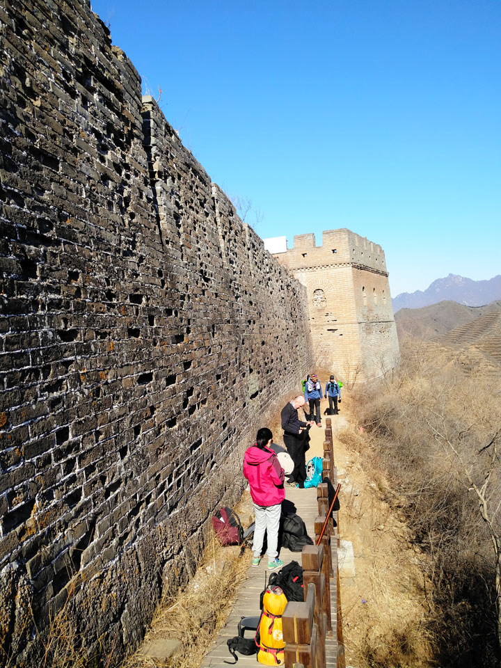 Camping Gubeikou to Jinshanling Great Wall, 2019/03/30 photo #11
