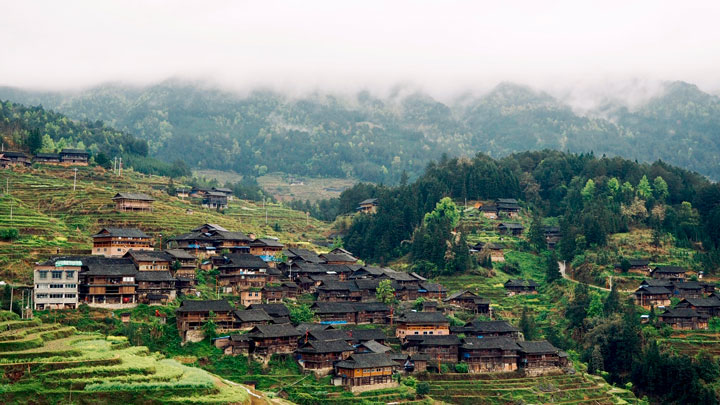 Guizhou Miao and Dong culture in the mountains (5 days), 2019/04/03