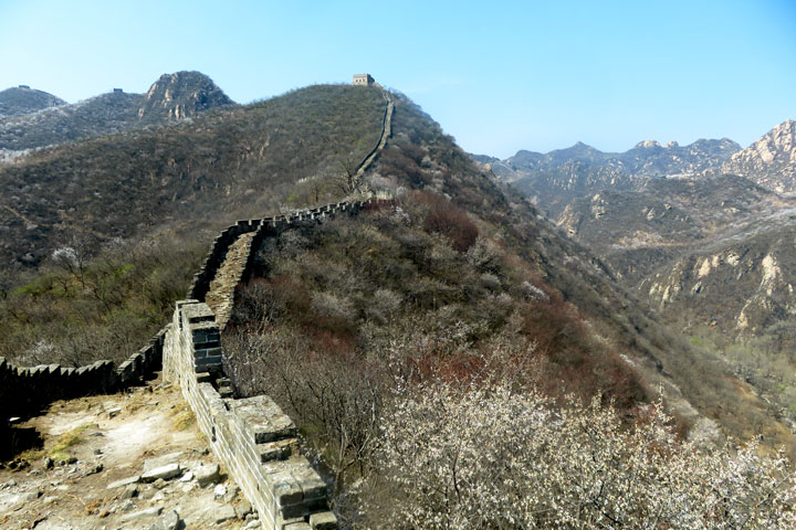 Longquanyu Great Wall to the Little West Lake, 2019/04/04 photo #7