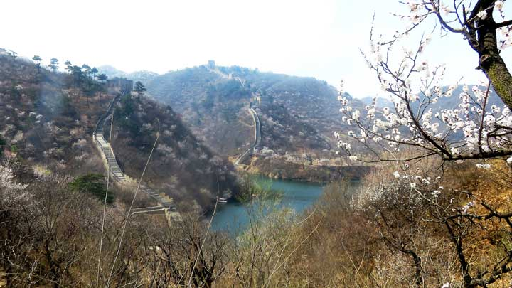 Longquanyu Great Wall to the Little West Lake, 2019/04/04