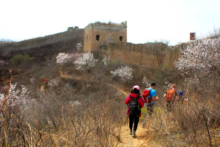 Gubeikou to Jinshanling Great Wall East, 2019/04/05 photo #24