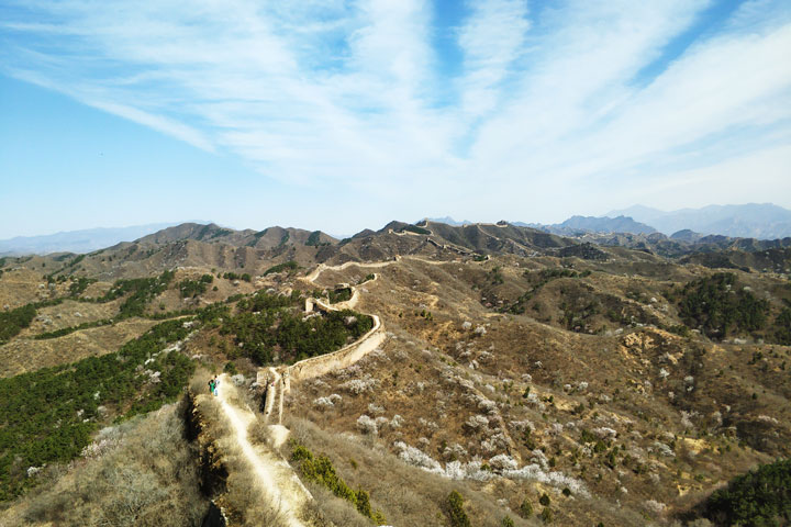 Camping Gubeikou Great Wall and Jinshanling Great Wall, 2019/04/06 photo #2