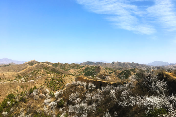 Camping Gubeikou Great Wall and Jinshanling Great Wall, 2019/04/06 photo #3