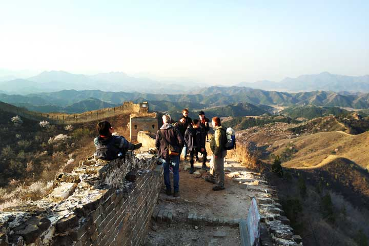 Camping Gubeikou Great Wall and Jinshanling Great Wall, 2019/04/06 photo #13