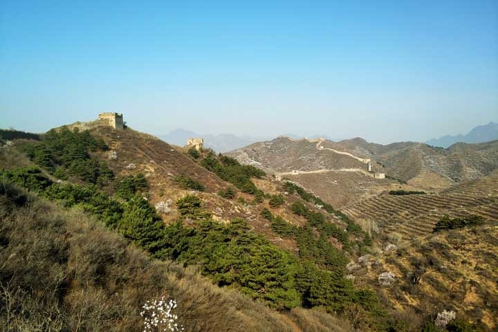 Camping Gubeikou Great Wall and Jinshanling Great Wall, 2019/04/06 photo #15