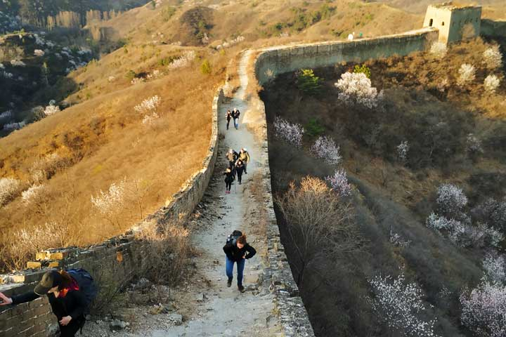 Camping Gubeikou Great Wall and Jinshanling Great Wall, 2019/04/06 photo #18