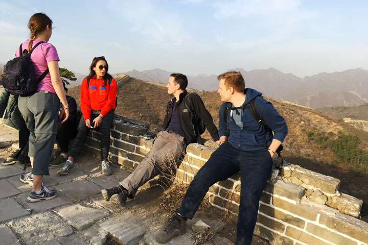 Sunset over the Huanghuacheng Great Wall, 2019/04/06 photo #11