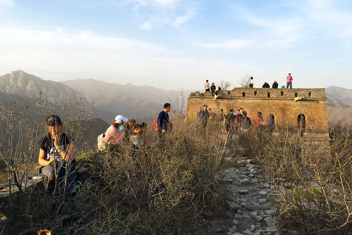 Sunset over the Huanghuacheng Great Wall, 2019/04/06 photo #12