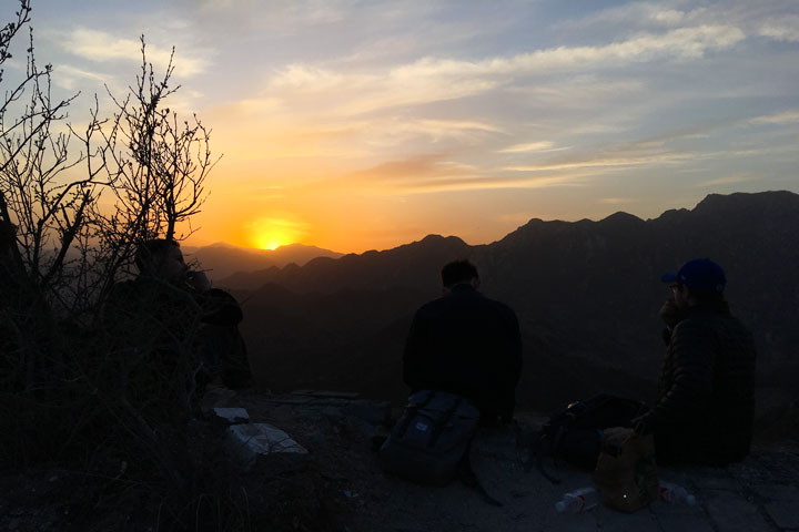 Sunset over the Huanghuacheng Great Wall, 2019/04/06 photo #18