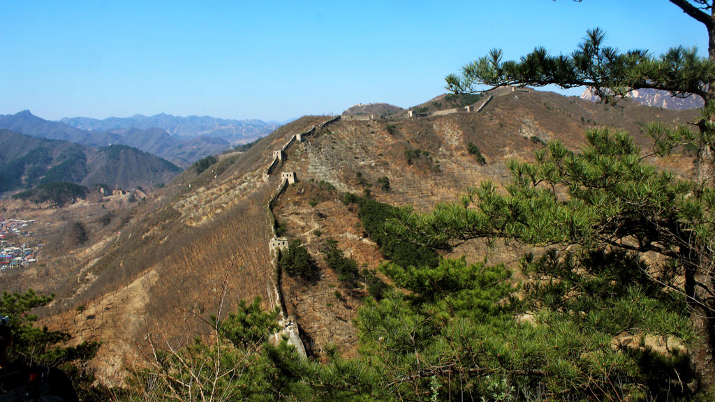 Walled Village to Huanghuacheng Great Wall, 2019/04/10