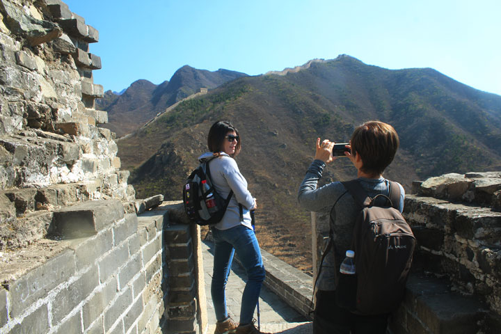 Walled Village to Huanghuacheng Great Wall, 2019/04/10 photo #2