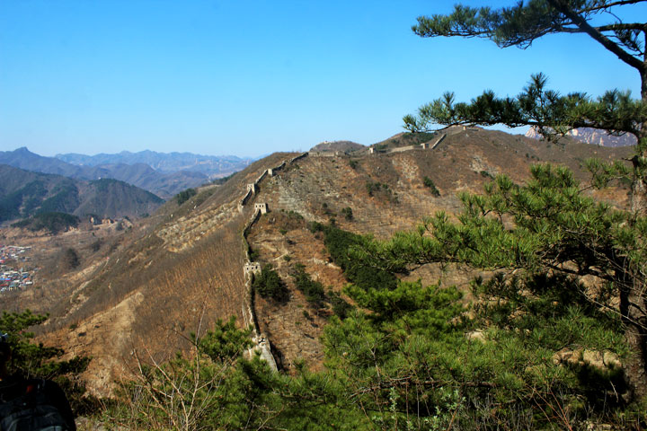 Walled Village to Huanghuacheng Great Wall, 2019/04/10 photo #11