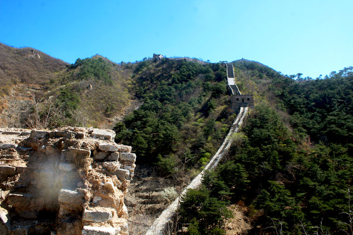 Walled Village to Huanghuacheng Great Wall, 2019/04/10 photo #17