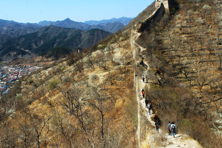 Walled Village to Huanghuacheng Great Wall, 2019/04/10 photo #21