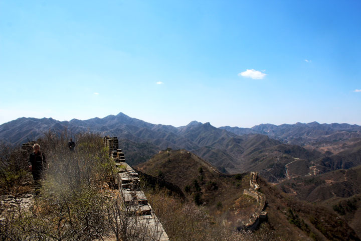 Walled Village to Huanghuacheng Great Wall, 2019/04/10 photo #26