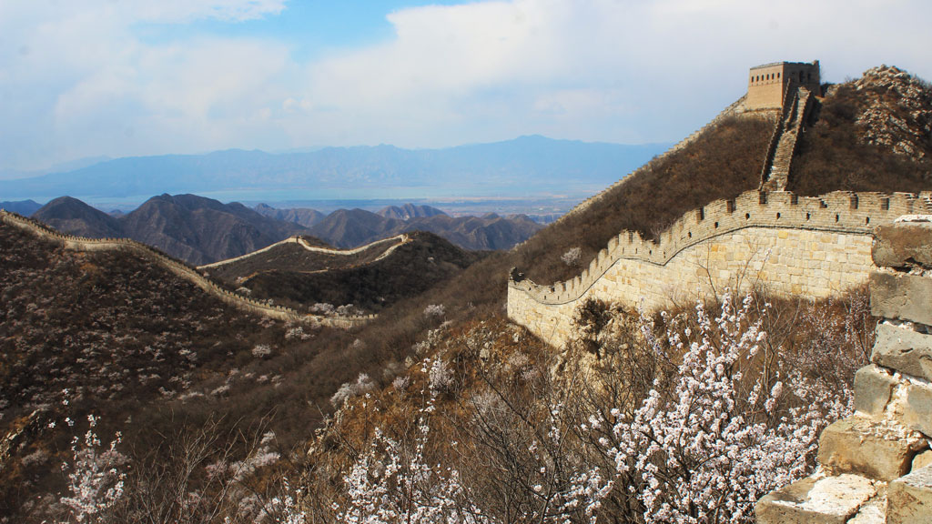 Stone vally Great Wall, 2019/04/11